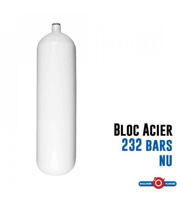 bouteille acier 12l long 232 bars nu. Black Bedroom Furniture Sets. Home Design Ideas