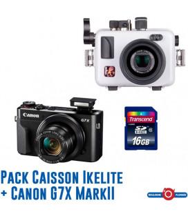 Pack G7X II + Caisson Ikelite