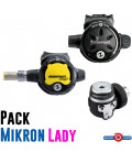 PACK TRAVEL MIKRON LADY DIN AQUA LUNG