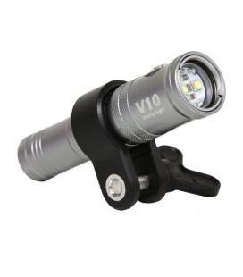 Eclairage photo-vidéo I-Torch FISH LITE V10 - 1000 lumens