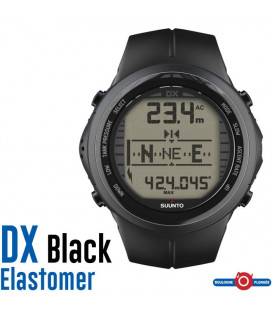 DX BLACK ELASTOMERE SUUNTO