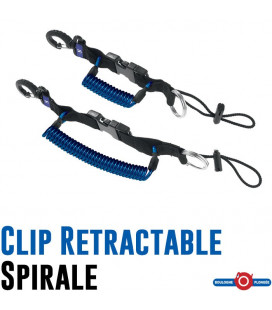 CLIP RETRACTABLE SPIRALE Scubapro