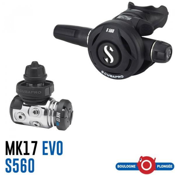 MK17 EVO/S560 Scubapro