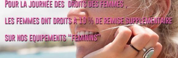 ✰ Promos en l'honneur des femmes chez Bop.✩
