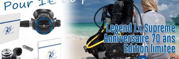 Dernier pack LEGEND LX SUPREME 70 ANNIVERSARY