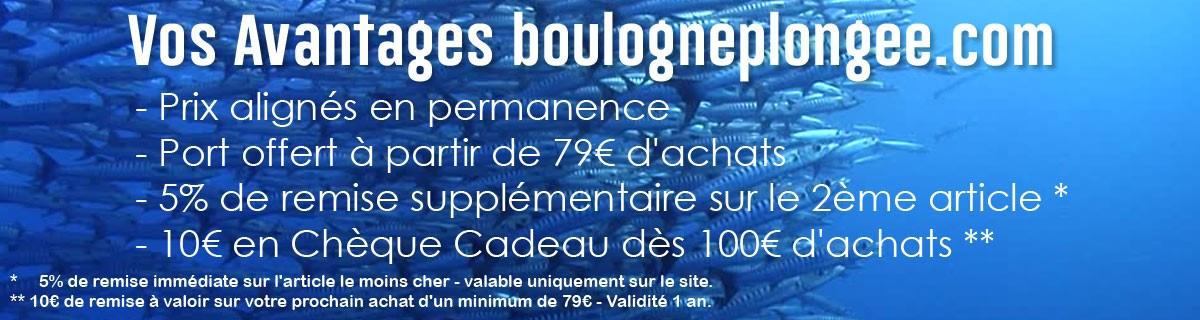 Avantages Boulogne Plongée Paris